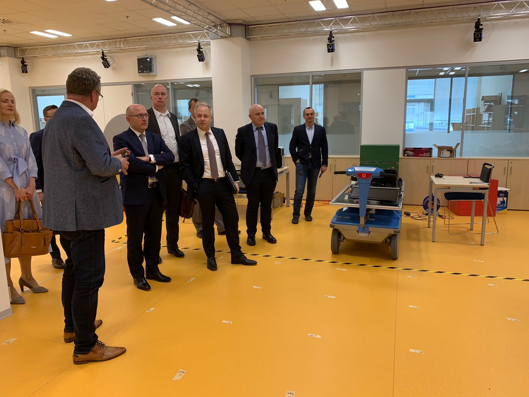 Visit of Bernhard Maier, CEO of Škoda Auto